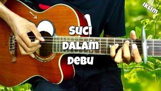 Download lagu Suci Dalam Debu - Iklim | Fingerstyle cover + Electronic Drum with Lyric | Faiz Fezz