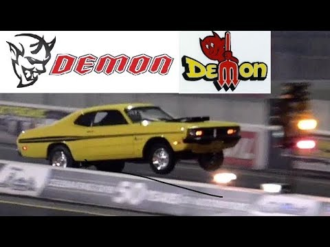 Dodge DEMON Does A 40 Foot Wheelie !! - 10.1 @ 131 MPH - Road Test ®