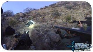 Polizei schießt auf Obdachlosen (Helmkamera filmt mit)