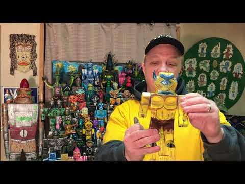 Priest's Toy Safari: Episode 33 (ZAPI art toys by Chance Priest)