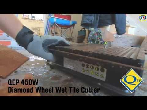 demo video the qep diamond wheel wet tile cutter toolstation