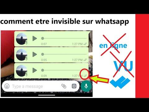 comment être invisible sur WhatsApp - lire les messages WhatsApp sans être vu