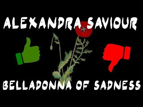 ALEXANDRA SAVIOUR - BELLADONNA OF SADNESS (Stupid Album Review) | WhySoWalrus