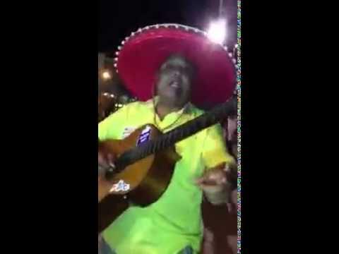 Singender mexikaner