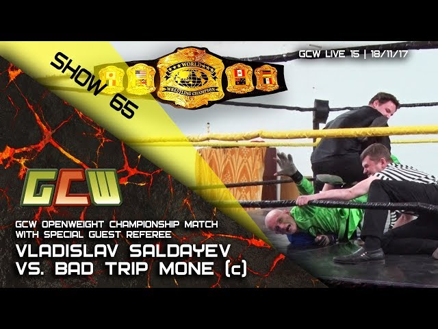 GCW Show 65: Saldayev vs. Mone (c) (GCW Openweight championship match, special guest referee)