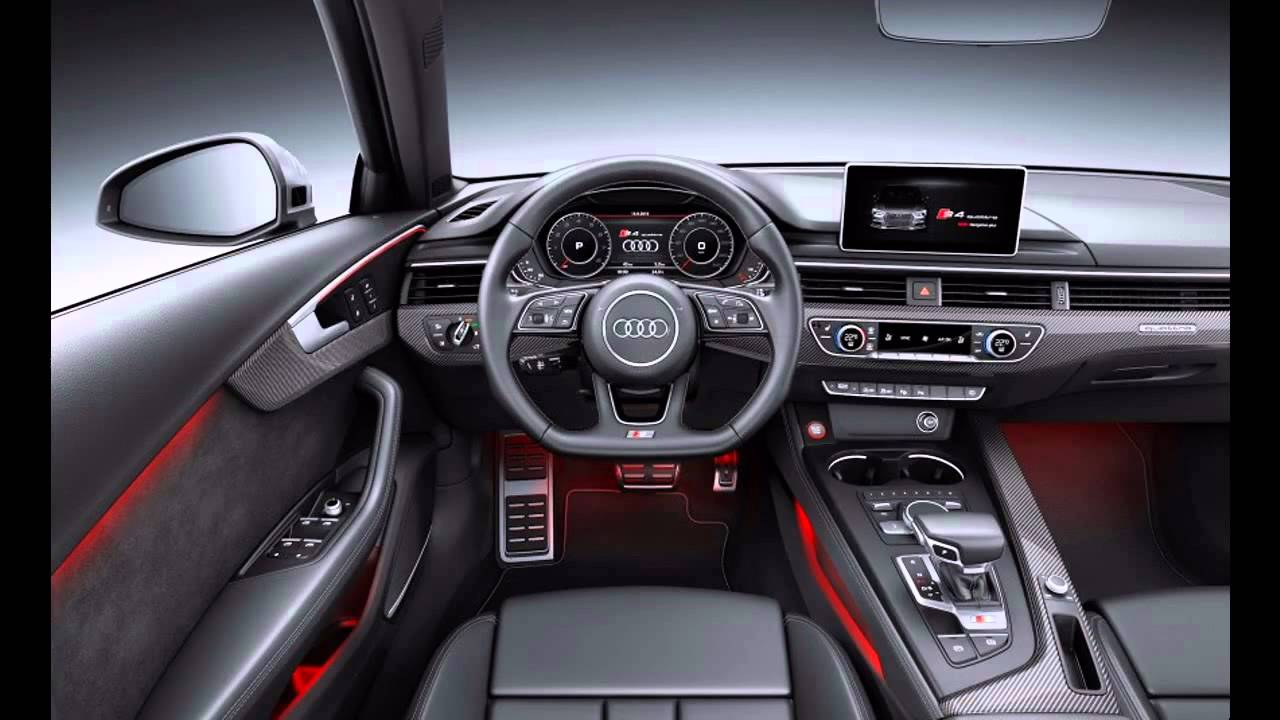 2016 audi s4 interior youtube for Interieur duster 2018