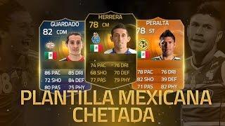 FIFA 15   PLANTILLA MEXICANOS   GUARDADO TOTS, PERALTA MOTM