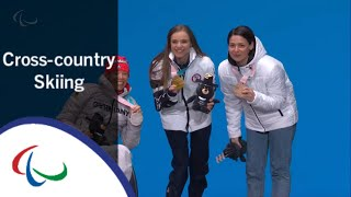 Victory Ceremony   Women's sitting   Cross-counrty skiing   PyeongChang2018 Paralympic Winter Games