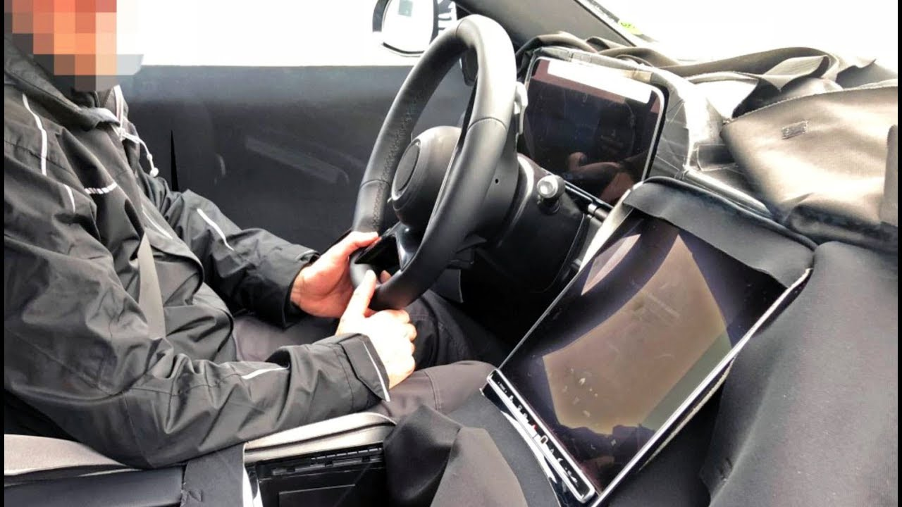 2020 S Class W223 Interior With Gigantic Screen