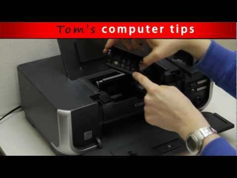 TCT - How to remove and clean Canon Printhead: