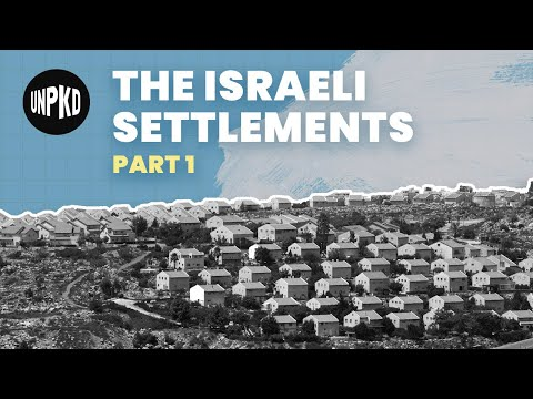 What Are The Israeli Settlements? | Settlements Part 1