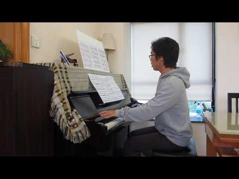 Beethoven: Violin Sonata No.1 - 2nd Movement - Piano Part [Fast Tempo]