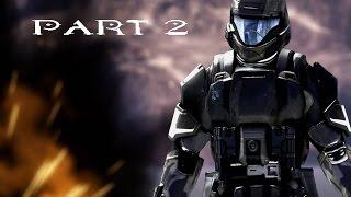 HALO 3: ODST Walkthrough Gameplay Part 2 - REMASTERED HALO MCC - TAYARI PLAZA (60fps)