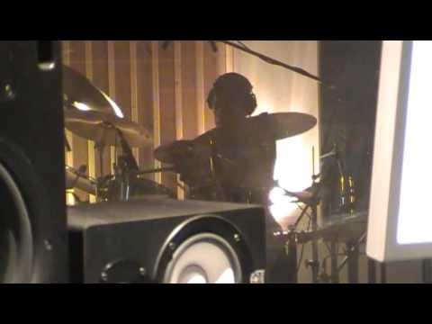 "Studio drum cam - Devious ""Afterlife"" - Wolfhagen 2012 - by Frank Schilperoort"