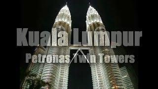 Kuala Lumpur Petronas Twin Towers Malaysia (HD)