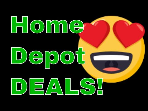 AMAZING Home Depot Deals PLUS Clearance Finds!