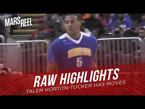 Talen Horton-Tucker Has MOVES | Simeon vs Whitney Young | RAW HIGHLIGHTS