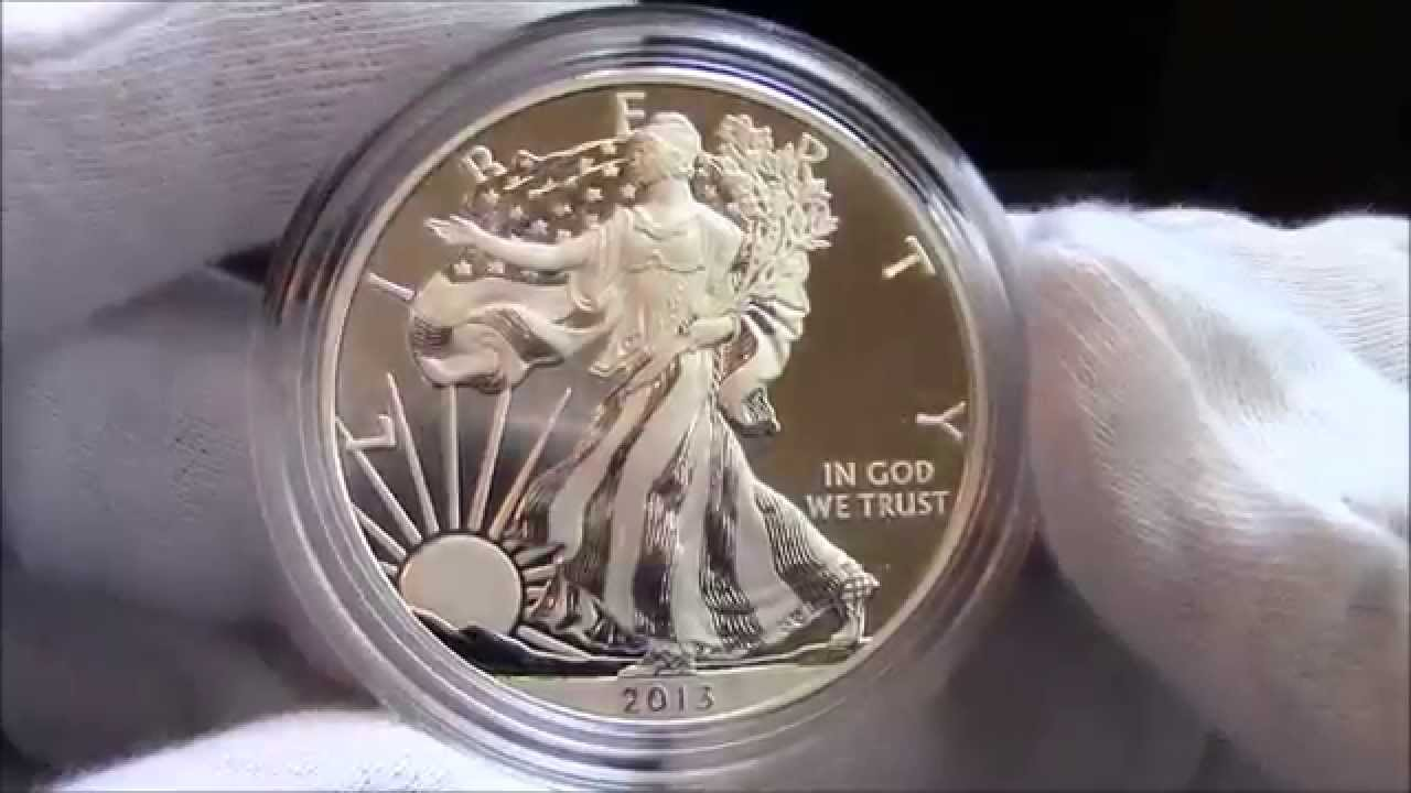2013 American Silver Eagle 2 Coin Set Reverse Proof