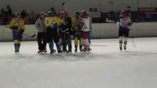 Match 1005 : 23/10/09 - FUNNY  ICE HOCKEY vs ICE MANIACS - 7:5