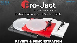 Gambar cover Project Debut Carbon Esprit Turntable Review and Demonstration