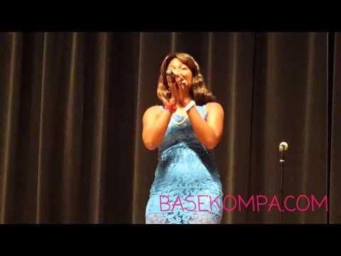Katia Charles Singing The Haitian National Anthem @ Sara Premiere Movie [Nov 1 15] (BASEKOMPA.COM)!