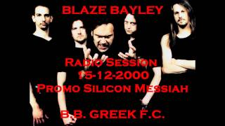Blaze Bayley Radio Interview 2000 [Promo Silicon Messiah]