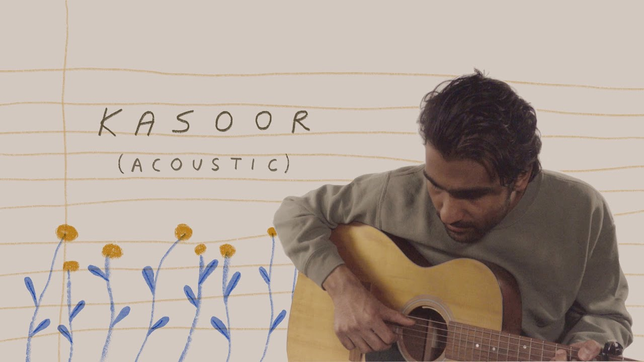 Download Prateek Kuhad - Kasoor (Acoustic) (Live Performance + Animation Video)