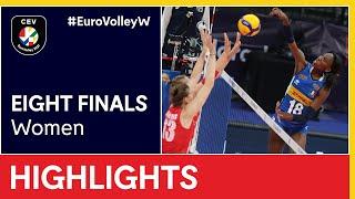 Italy vs Belgium Highlights EuroVolleyW