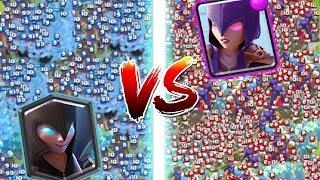 1000 GECE CADISI VS 1000 CADI !! - CLASH ROYALE