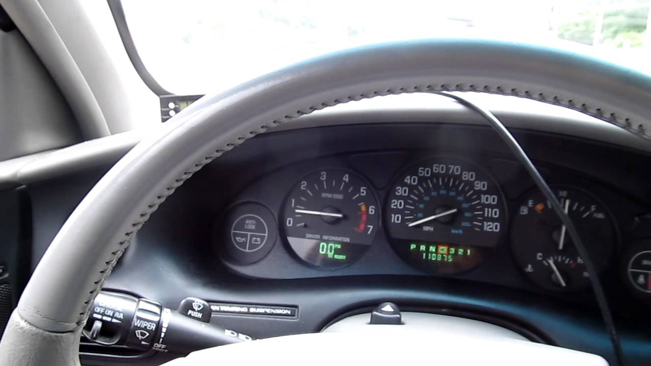 2000 Buick Regal Gs In Car Drive Youtube