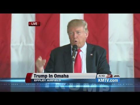 WATCH: Full speech from Donald Trump in Omaha, Nebraska