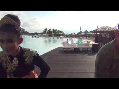 Tari Zapin Teluk Belanga oleh personil Polres Bintan