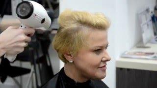 """Обучение парикмахеров """"Геометрия стрижки"""""""