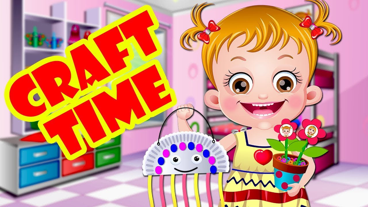 Baby Hazel Craft Time Gameplay Craft Ideas For Kids Crafting Games For Kids Youtube