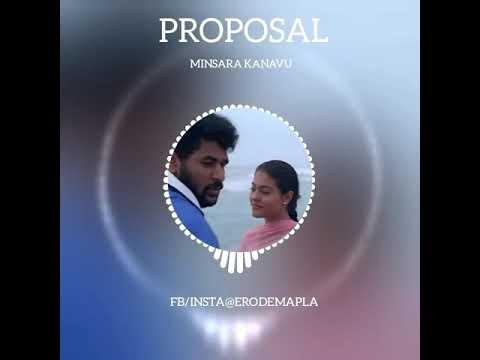 PROPOSAL Feelings   Minsara Kanavu   Cute Dubsmash & Ringtone