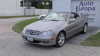Yes, another one.  But this is one really good looking 2007 Mercedes-Benz CLK350 Cabriolet