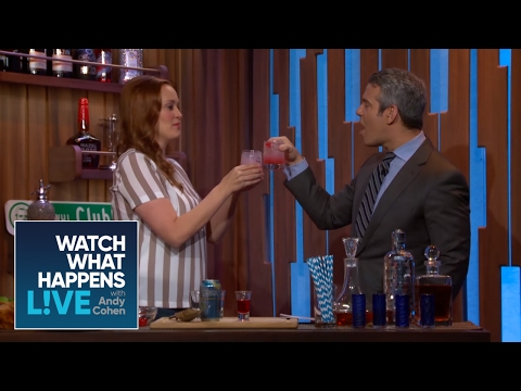 Mamrie Hart and Andy Cohen Make a 'Call Me Mamrie' | WWHL