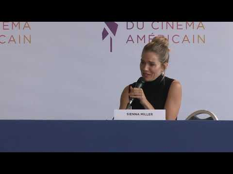 FCAD 2019 - American Woman press conference (Sienna Miller)