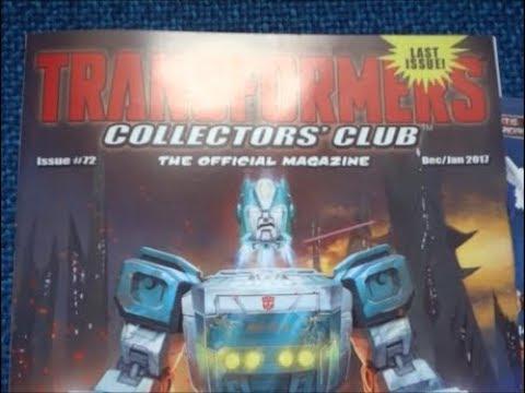 Collectors Club Magazines (Transformers)