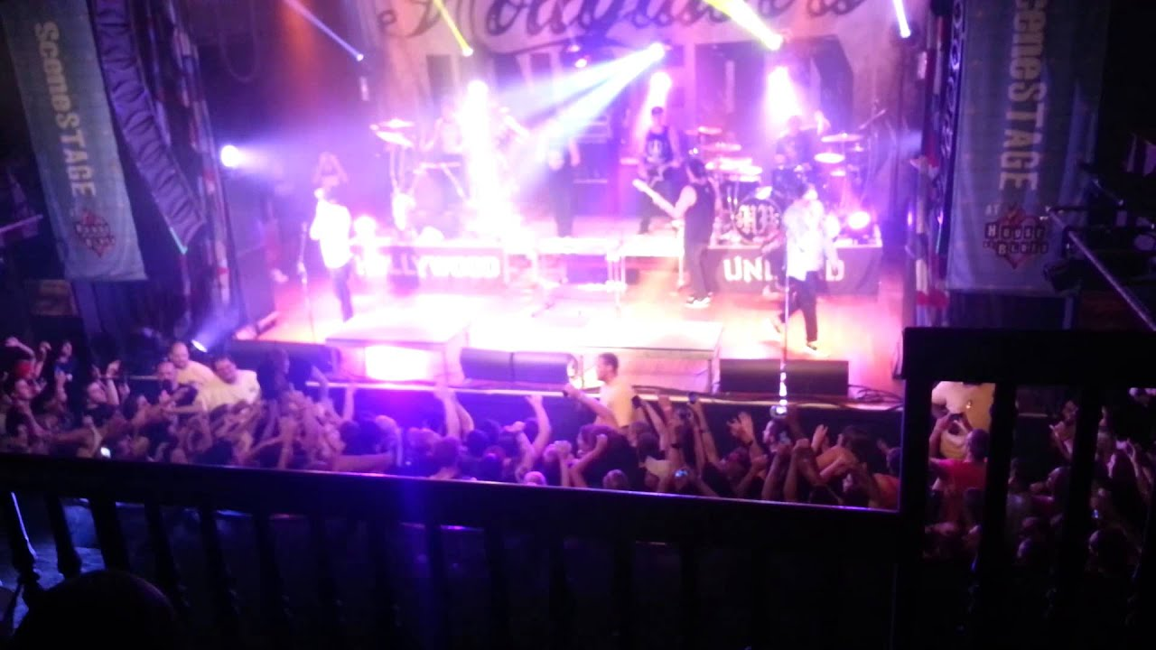 Hollywood Undead Brings Out MGK Cleveland Ohio House of Blues