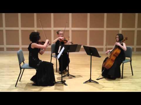 Tre Dolce plays Borodin String Trio in G minor