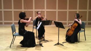 Tre Dolce plays Borodin String Trio in G minor