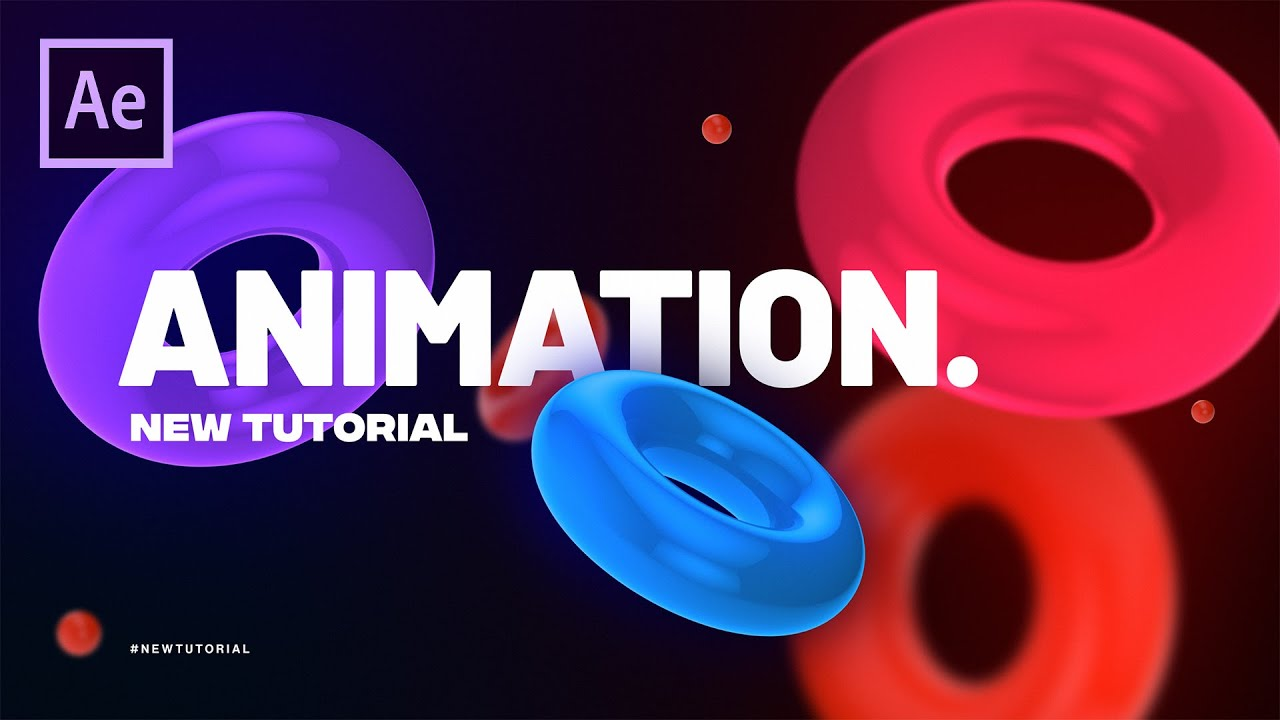 Trendy Shapes Motion Graphics in After Effects