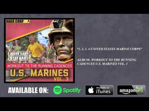 1, 2, 3, 4 United States Marine Corps Running Cadence