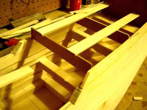 San Martin wooden ship model build log  Part 1
