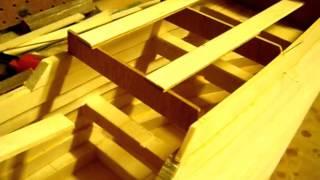 San Martin wooden ship model build log  Part 1