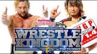 Wrestle AM: NJPW Wrestle Kingdom 13 Card Set and The XFL Returns