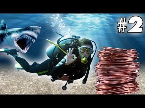 COPPER HUNTING! - Subnautica #2