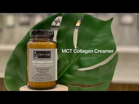 COCOLAB MCT Collagen Creamer - 2 in 1 for Weight Loss & Younger Skin