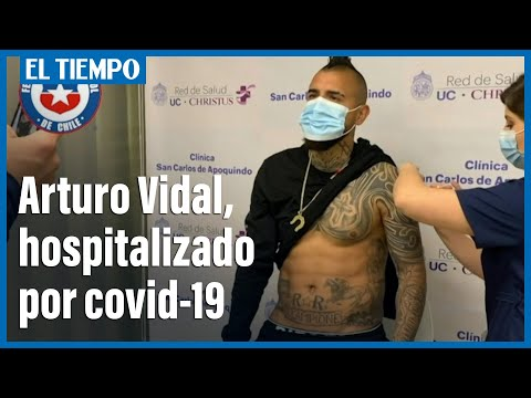Download Arturo Vidal, hospitalizado por covid-19